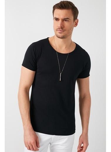 Buratti Buratti Basic Erkek T-Shirt 5412008 Siyah